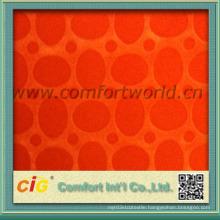 Custom Colorways Flock on Flock Upholstery Sofa Cover Fabric