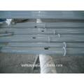Les fabricants de poteaux de rue en acier galvanisé galvanisé à 10 m fabriquent