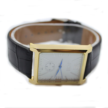 Last Custom Leather Wrist Watch