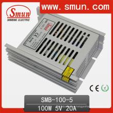 Fuente de alimentación de conmutación de salida única ultra delgada de 100W 5V / 12V / 24V / 48V