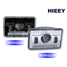 """DOT Approval 4""""X6"""" Led headlight for truck high beam and low beam headlight"""