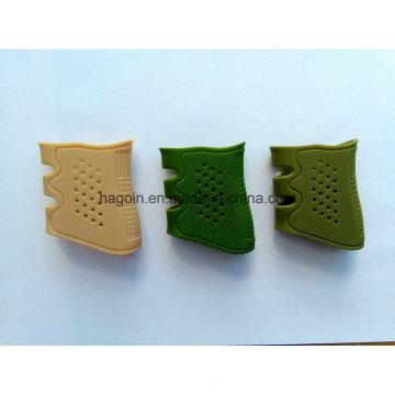 Silicona Silicona Rubber Grip Fit para Glock 17, 19, 20, 21, 22, 23, 25, 31, 32, 34, 35, 37, 38