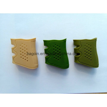 Stock Silicone Silicon Rubber Grip Fit for Glock 17, 19, 20, 21, 22, 23, 25, 31, 32, 34, 35, 37, 38