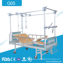 G05 4 Cranks Steel Orthopedic Cervical Lumbar Traction Bed