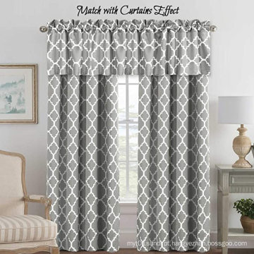 Novos desenhos geométricos de cortinas de banheiro com cortinas