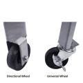 Edelstahl-Hochdruck-Einzelbrenner mit Rädern