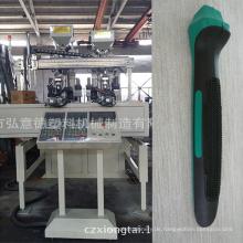 Ht-95 Zwei Farben Vollautomatische Spritzgießmaschine mit Manipulator für Werkzeug