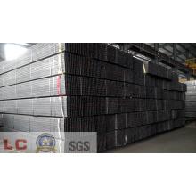 Tuyau d'acier carré noir SS400