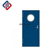free shipping EN1634 900*2100mm single leaf grey door marine fire door fire-proof door