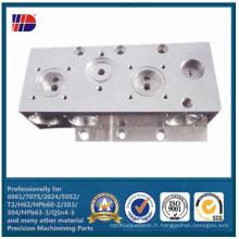 Service de usinage de précision de commande numérique par ordinateur, pièces de usinage, usinage en métal