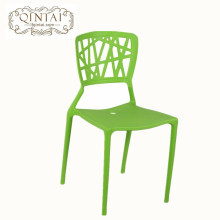 Mobilier moderne Chaise de salle à manger empilable en plastique PP