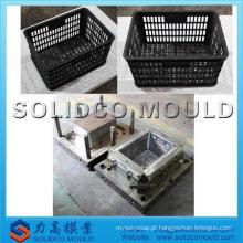 Molde de injeção plástica para caixa de armazenamento