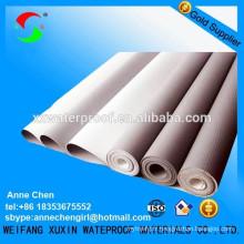 Membrane imperméable au polychlorure de vinyle de haute qualité