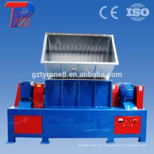 China trituração de material de dtv de pneu usa triturador de eixo duplo por CE
