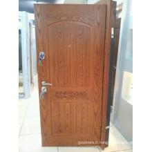 Porte blindée en bois d'acier de nouvelle conception et haute qualité de 2014