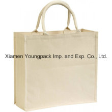 Fashion Custom Heavy Duty 12oz Cotton Canvas Shopper Carrier Bag