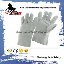 Cow Split Leather Industrial Safety Welding Work Glove