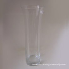 Clear Glass Vase - 07gv02002