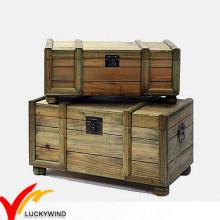 Ручная деревянная складская сумка для старинной репродукции