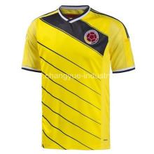 2014 Nueva Colombia World Cup Jersey Tailandia calidad uniformes kits del fútbol