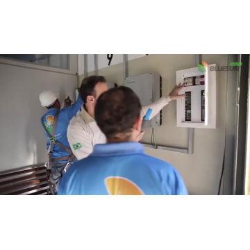 7KW comercial En el sistema de energía solar de rejilla 10KW 20KW 50KW Sistema de energía solar en casa en promoción fácil de configurar
