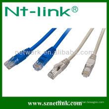 Fabrique le cordon de raccordement Utp / ftp cat5e en usine