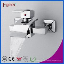 Fyeer Hot Sale Bathroom Waterfall Faucet con desviador