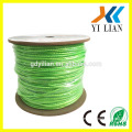 Best price 50ft feet double cat5e utp lan network cable for ethernet router
