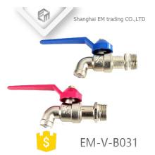 "EM-V-B031 1/2"" Zinc plated brass bibcock"