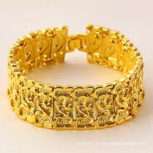 Jóia de moda de 24k Pulseira de Ouro