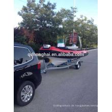 Außenbordmotor Fiberglas Rib Schlauchboot