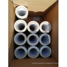 Printed Vapor Barrier Tape with Aggressive Solvent Adhesive and Strong Backing
