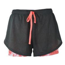 Shorts impressos Running Shorts Running Wear para as Mulheres