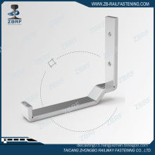 159.6x13x3 Galv cross arm cable support bracket