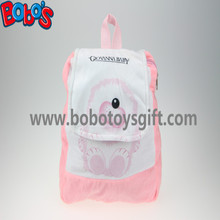 "11.8""Pink White Children Backpack Has a Pattern of Bear Bos-1233/30cm"