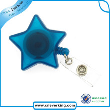 Funny Cute Retractable Friendly Plastic Badge Reel