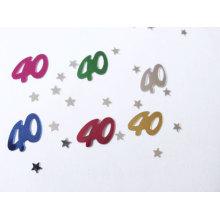 Confetti de comemoração de aniversário