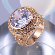 joyería nupcial árabe de la manera grande del oro fijó el anillo de la vagina de la moda