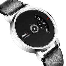 2016 nova moda couro relógio homens relógio relógios casuais
