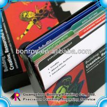 Design de cartão de jogo personalizado high-end