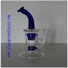 Rauchendes Glaspfeife mit Glasbodenverbindungen