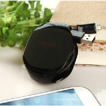 2014 High Quality Bobbin Winder Automatic Earphone Cord Winder Retractable