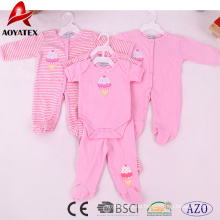 100% cotton 19-24 months unisex cute pink baby rompers clothing
