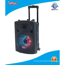 8′′ Trolley Battery Speaker with Colorfuly Light Stage Speaker F631d