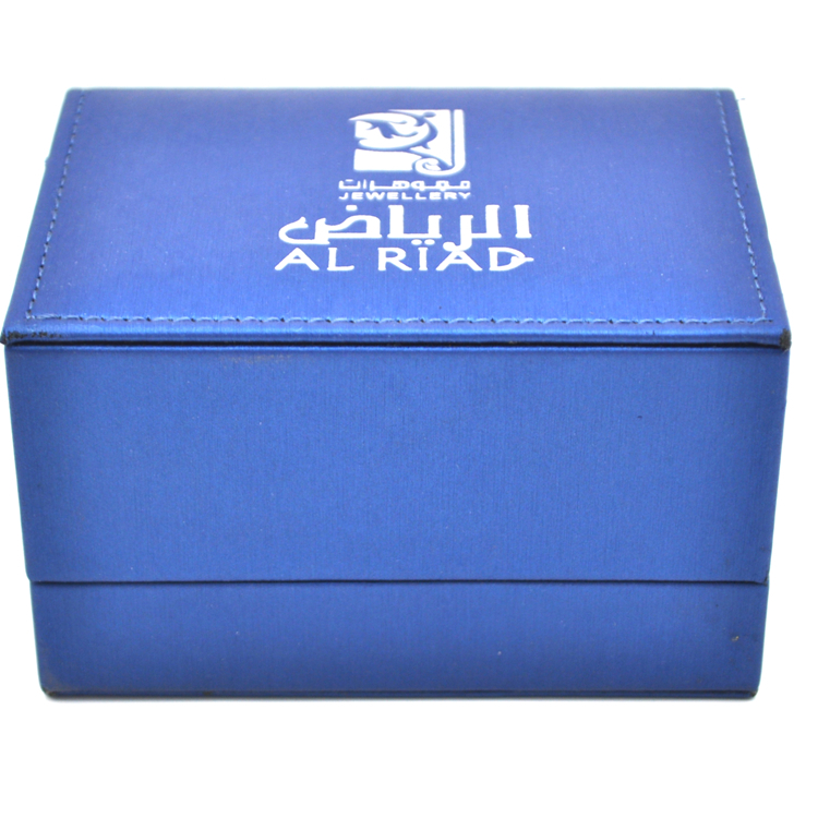 Blue Jewelry Paper Box Custom Bracelet Box