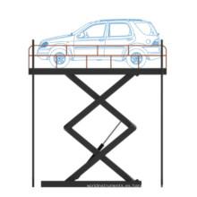 Elevador de tijera vertical vertical fijo para productos de alta calidad
