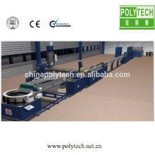 Produkt Dicke 0,2-1,0 mm CE Zertifikat Boden Kunststoff flach Rohr Maschine
