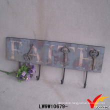 Vintage Shabby Chic Wooden Hook
