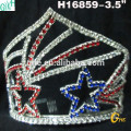Beauty large crystal queen pageant crown