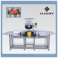 ELUCKY Grande área de bordado Flat / Bedsheet Máquina de borda de computador de cabeça única Preço